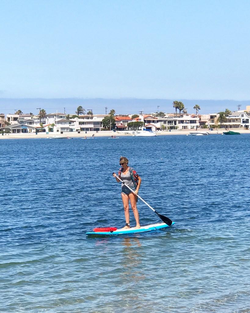 Paddle board at the Bahia