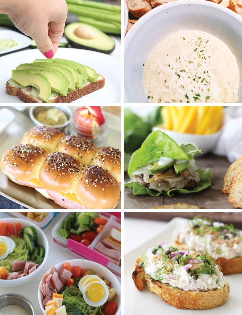 easy lunch and dinner ideas