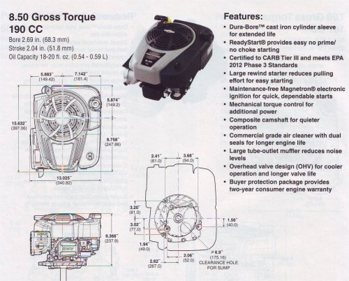 small resolution of click for engine line drawings pdf briggs and stratton
