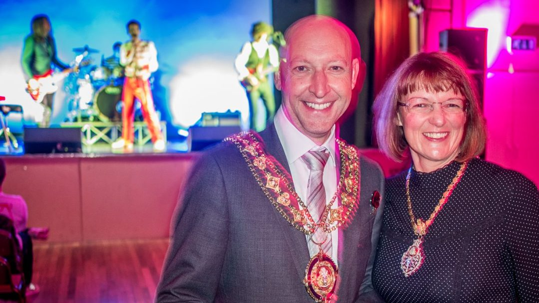 Calderdale mayor and mayoress