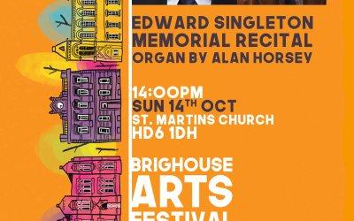 Edward Singleton Memorial Organ Recital