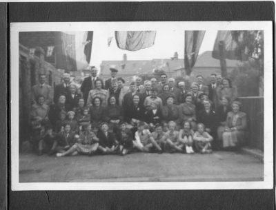 1953 Coronation Street Party, Dene Gardens, Tyneside - photographer unknown