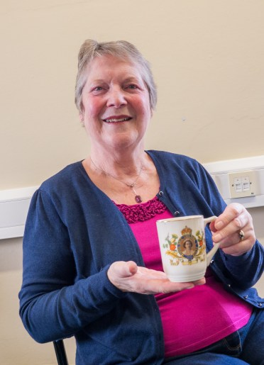 Elizabeth and her Coronation Mug