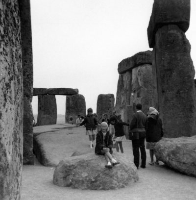 Sue's visit to Stonehenge – when you could walk right in 1960s, photographer unknown