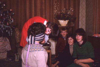 Blindfold tasting game 1964