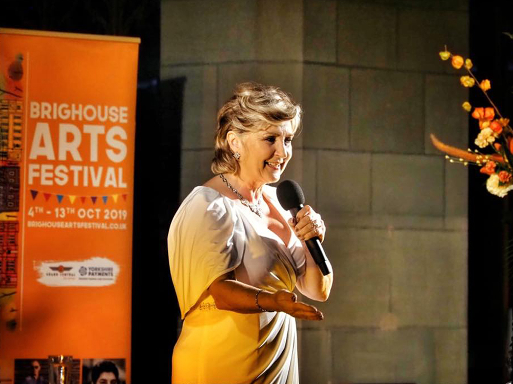 Lesley Garrett at Brighouse Arts Festival 2019