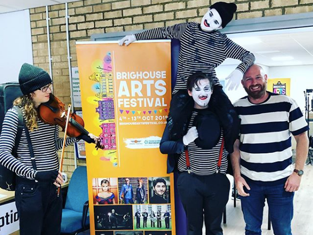 Even Poorer Theatre at Field Lane Mini Fest part of Brighouse Arts Festival 2019