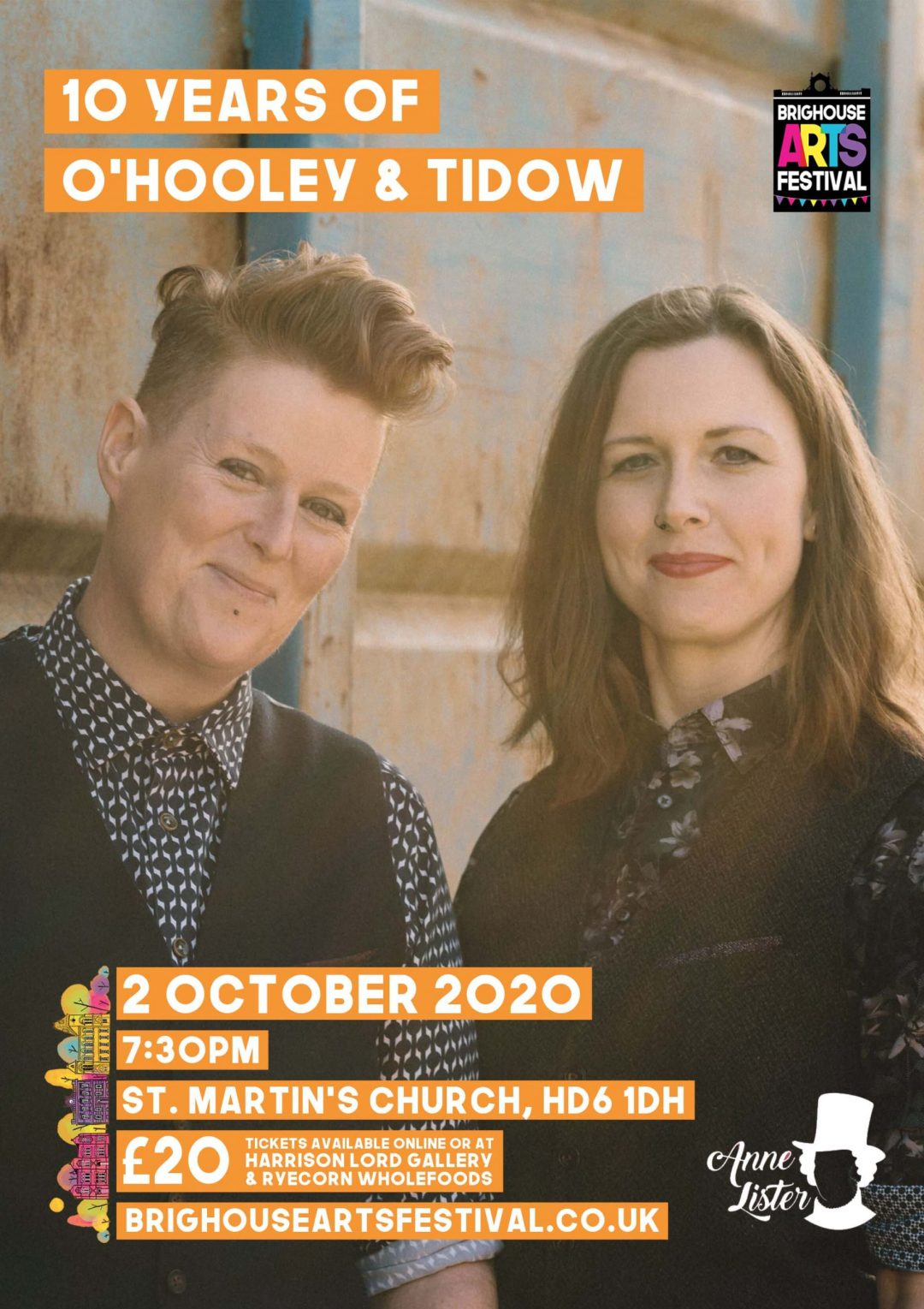 O'Hooley and Tidow - Brighouse Arts Festival 2020