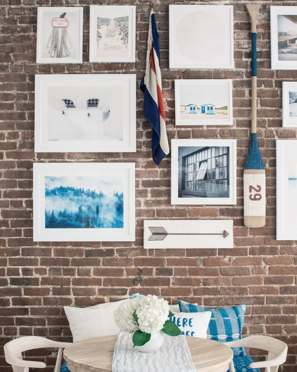 Hang Wall Exposed Brick Walls - Bright Bazaar Taylor