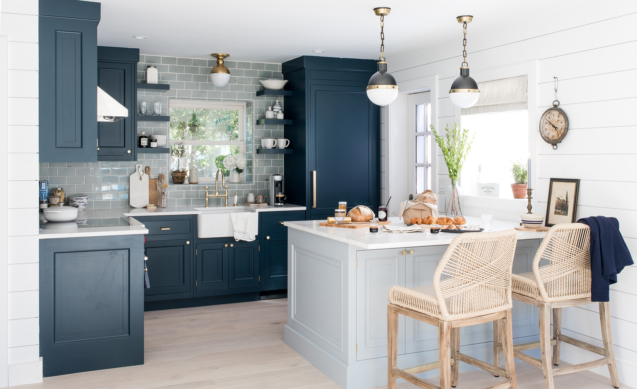Our Beach House Kitchen The Reveal  Bright Bazaar by