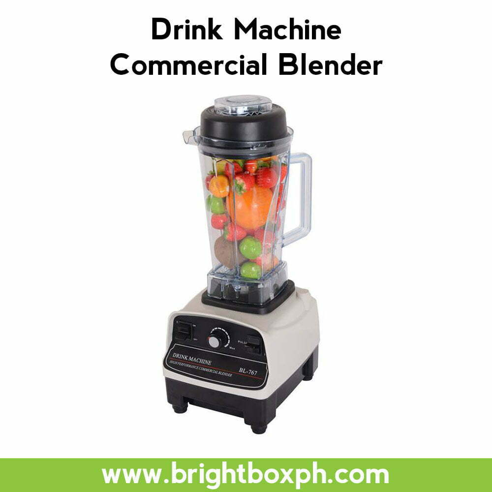 Drink Machine Commercial Blender Philippines  Brightbox