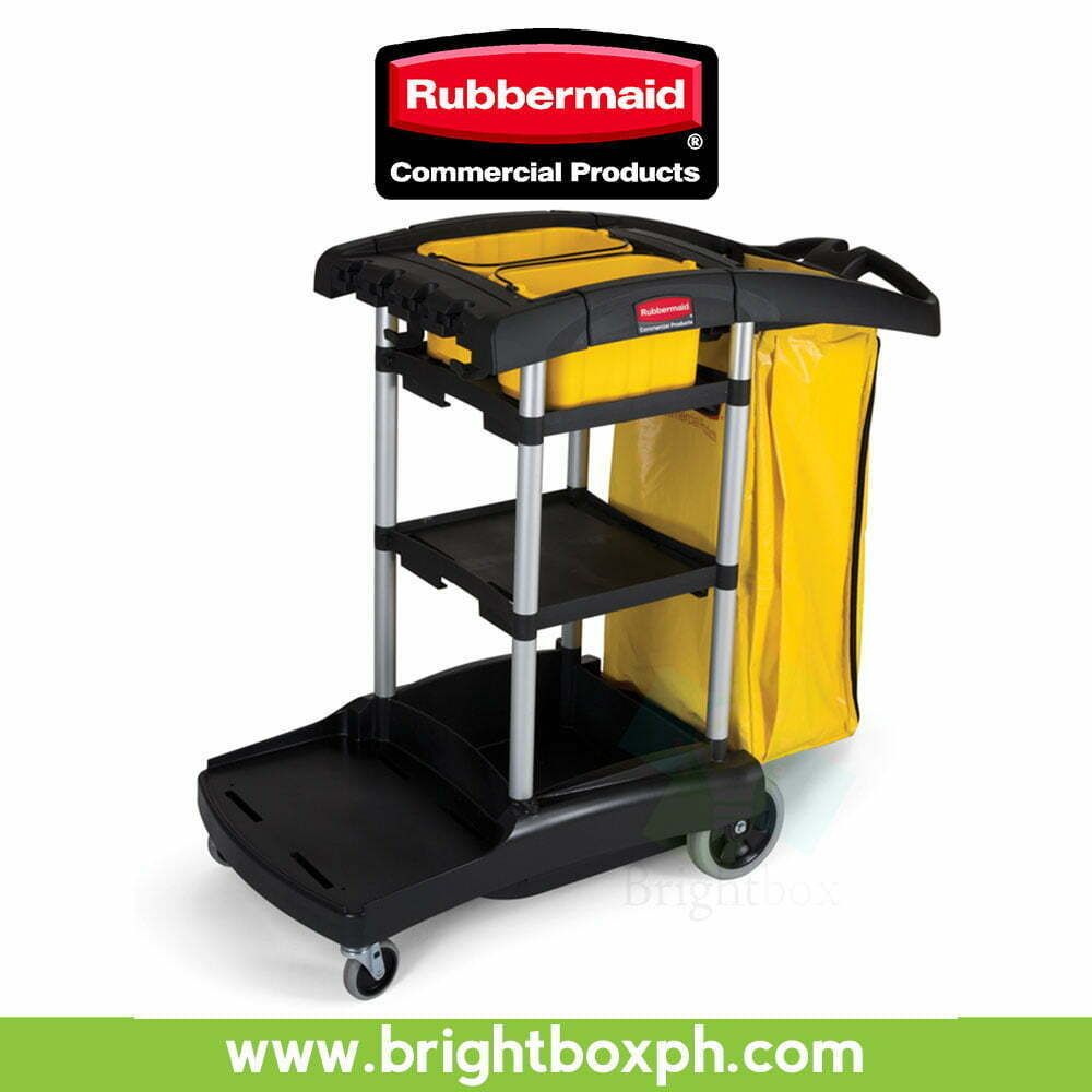 rubbermaid high chair philippines luxury dining chairs expert event capacity cleaning cart