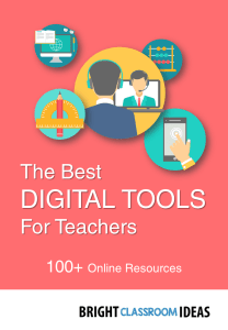 the best digital tools for teachers