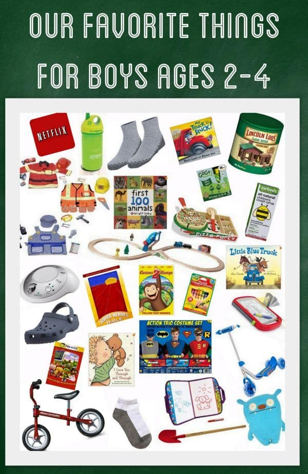 Our favorite things for boys ages 2 4 little boy gift ideas for Things to get a country boy for christmas