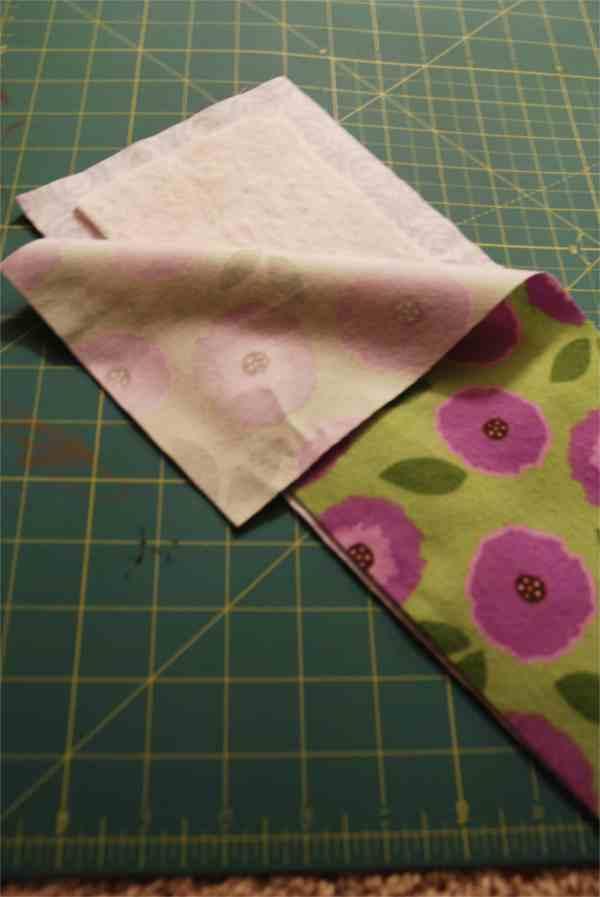 How to Make a Soft Strip Rag Quilt