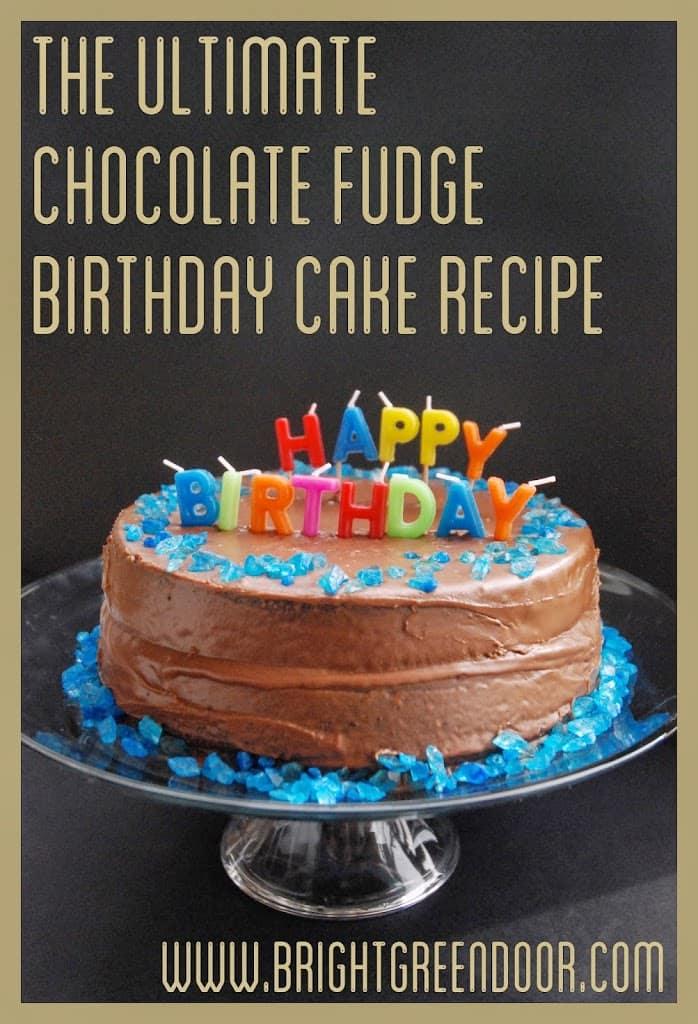 the ultimate chocolate birthday cake the ultimate chocolate