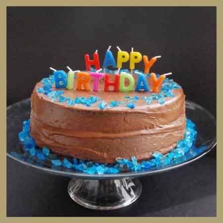 Grandma's Best Chocolate Fudge Birthday Cake