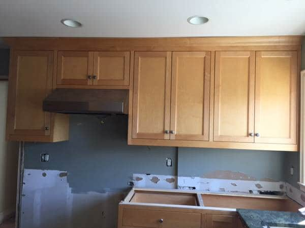 Our Craigslist Kitchen Cabinets