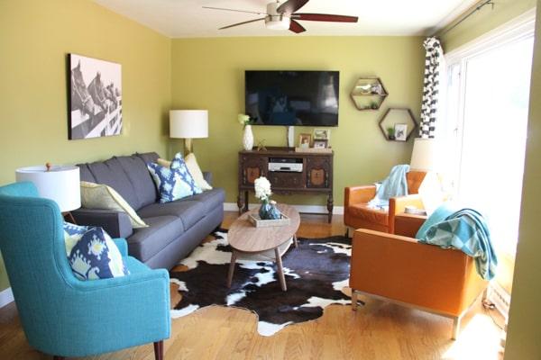 Modern Cowboy Living Room-3