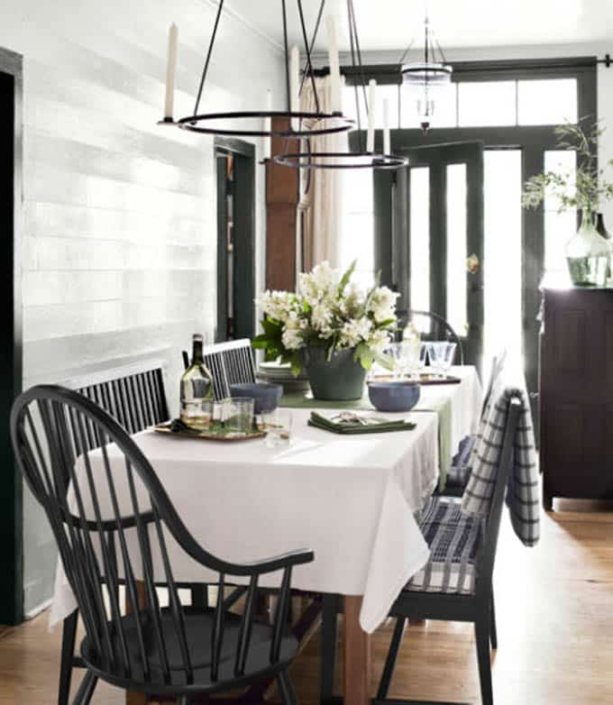 Country Dining Room Decorating Ideas: Dining Room- How To Design A Room From Inspiration Photos