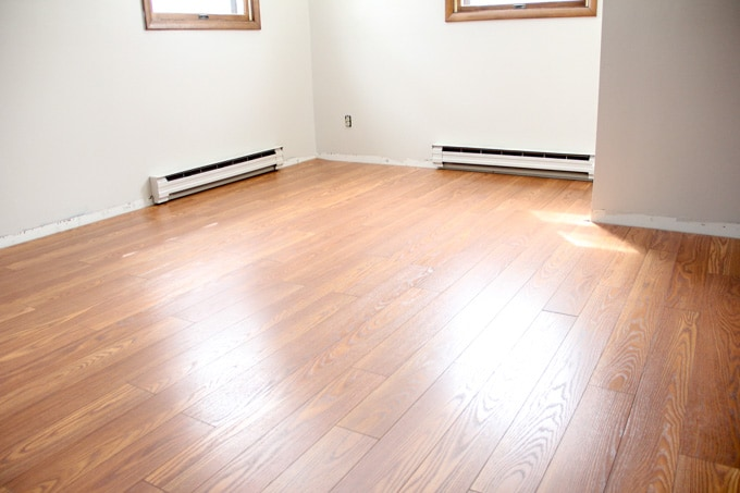 Installing Laminate Flooring And A New Rug Too Bright