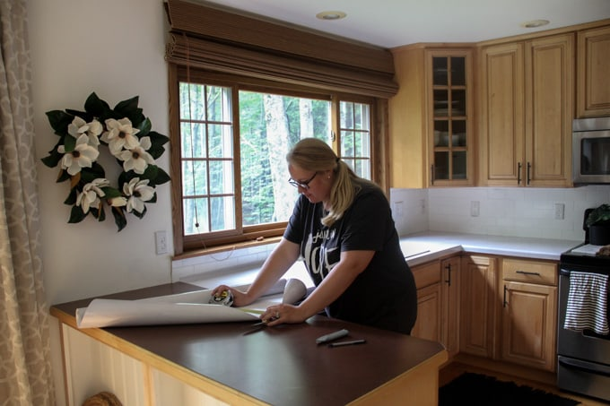 Installing Faux Marble Counters