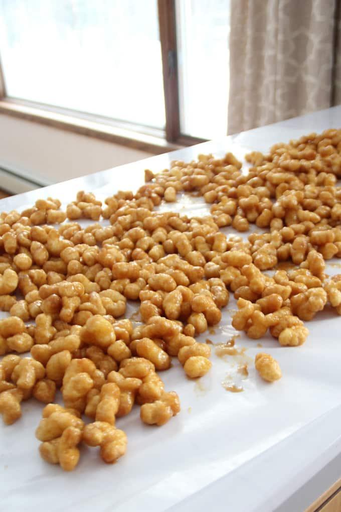 Puff Corn with Caramel Recipe