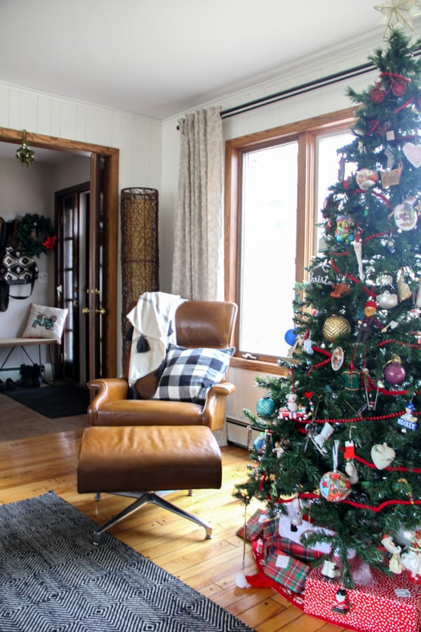 Modern Furniture and Christmas Decorations