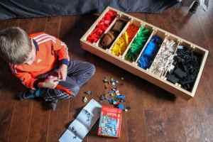 Rolling LEGO Sorter and LEGO Juniors