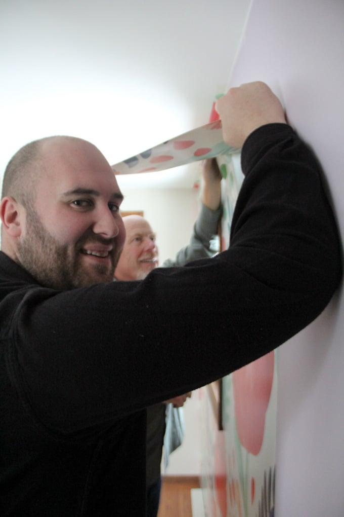 Matt McGurn Installing Wallpaper
