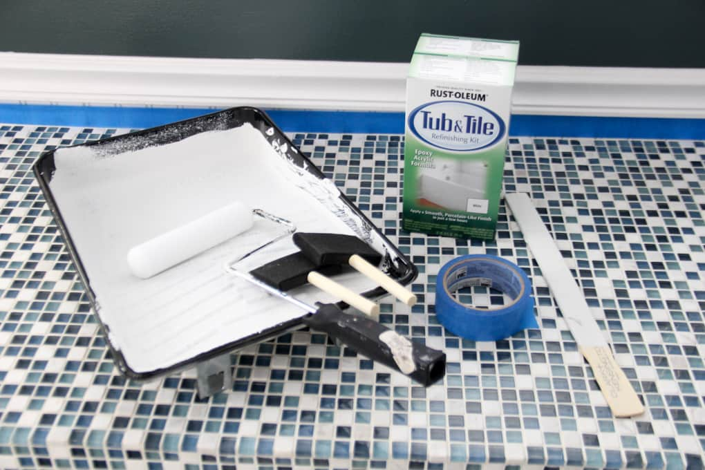 How to PaintTile Countertops