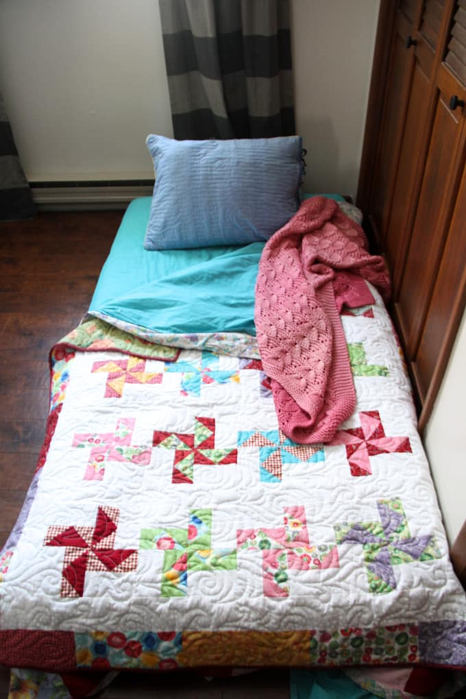 Temporary Bed on Floor