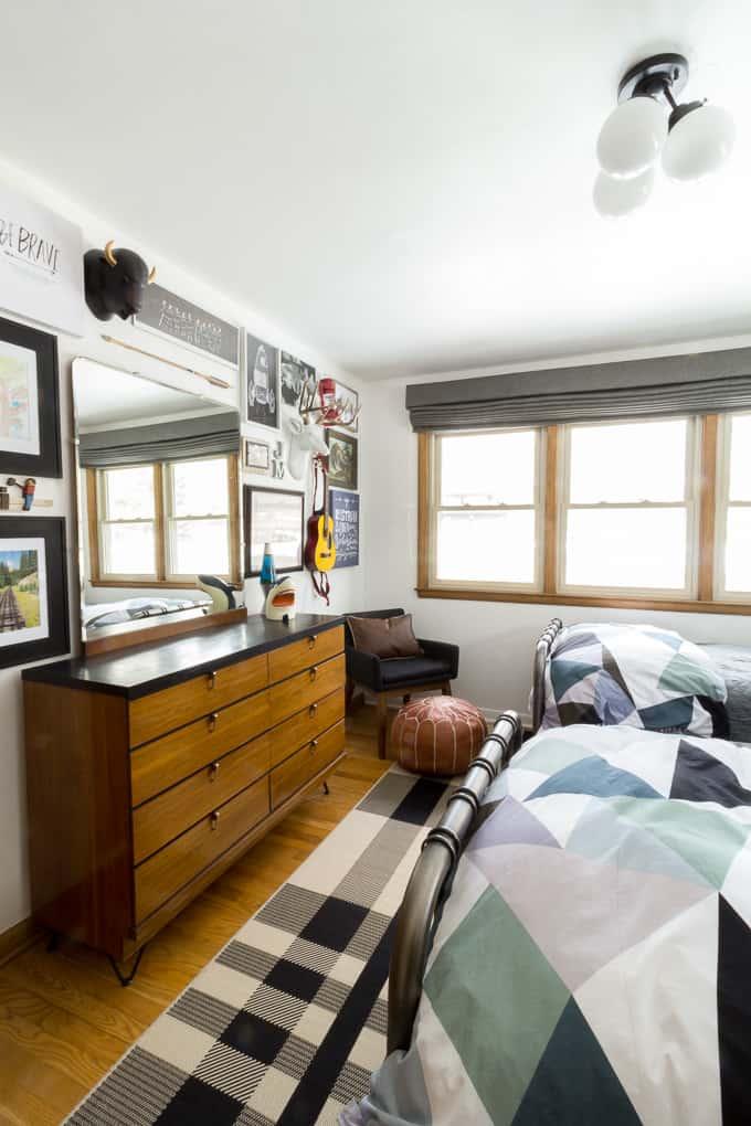 Modern Big Boys Bedroom