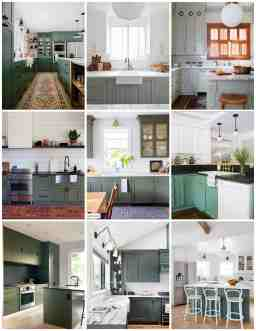 Moody Green Kitchen Cabinet Paint Colors Bright Green Door