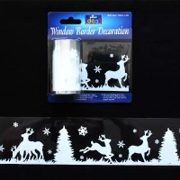 Window Borders Ideas & Christmas Window Painting Ideas ...