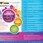 kemet fm Health Party invite