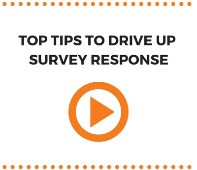 Top tips to drive up survey response rate