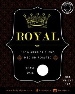 100 percent Arabica roasted coffee