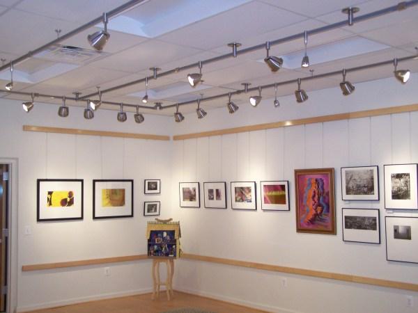 LED Track Lighting Art Gallery