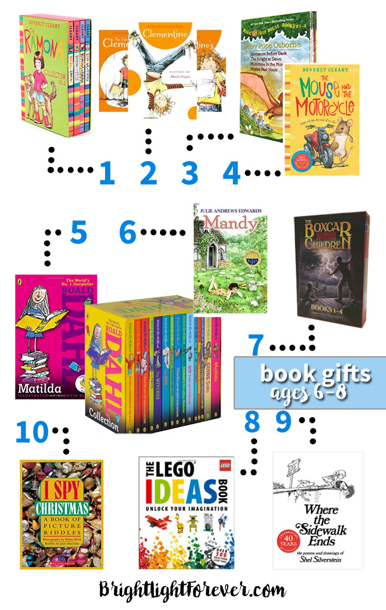 Book gift guide for 6, 7, and 8-year-olds | Wonderful, thoughtful list!