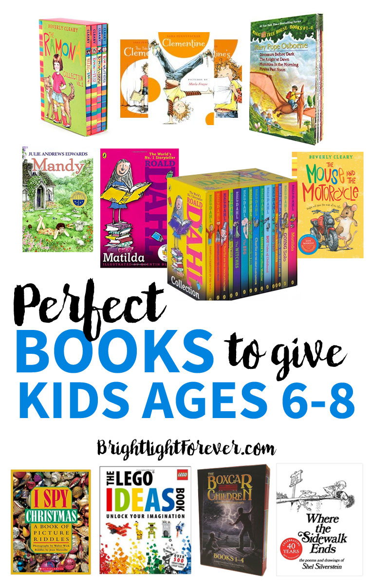 Gift Guide: The Best Book Gifts for 6-8 Year-Olds - Bright Light Mama
