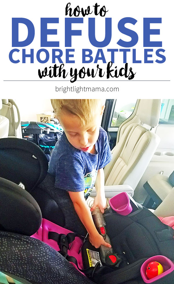 Kids don't want to do chores? 5 things to try when they whine and complain about cleaning up. (From a mom of four!)