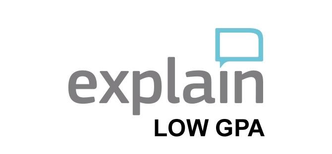 Personal statement graduate school low gpa