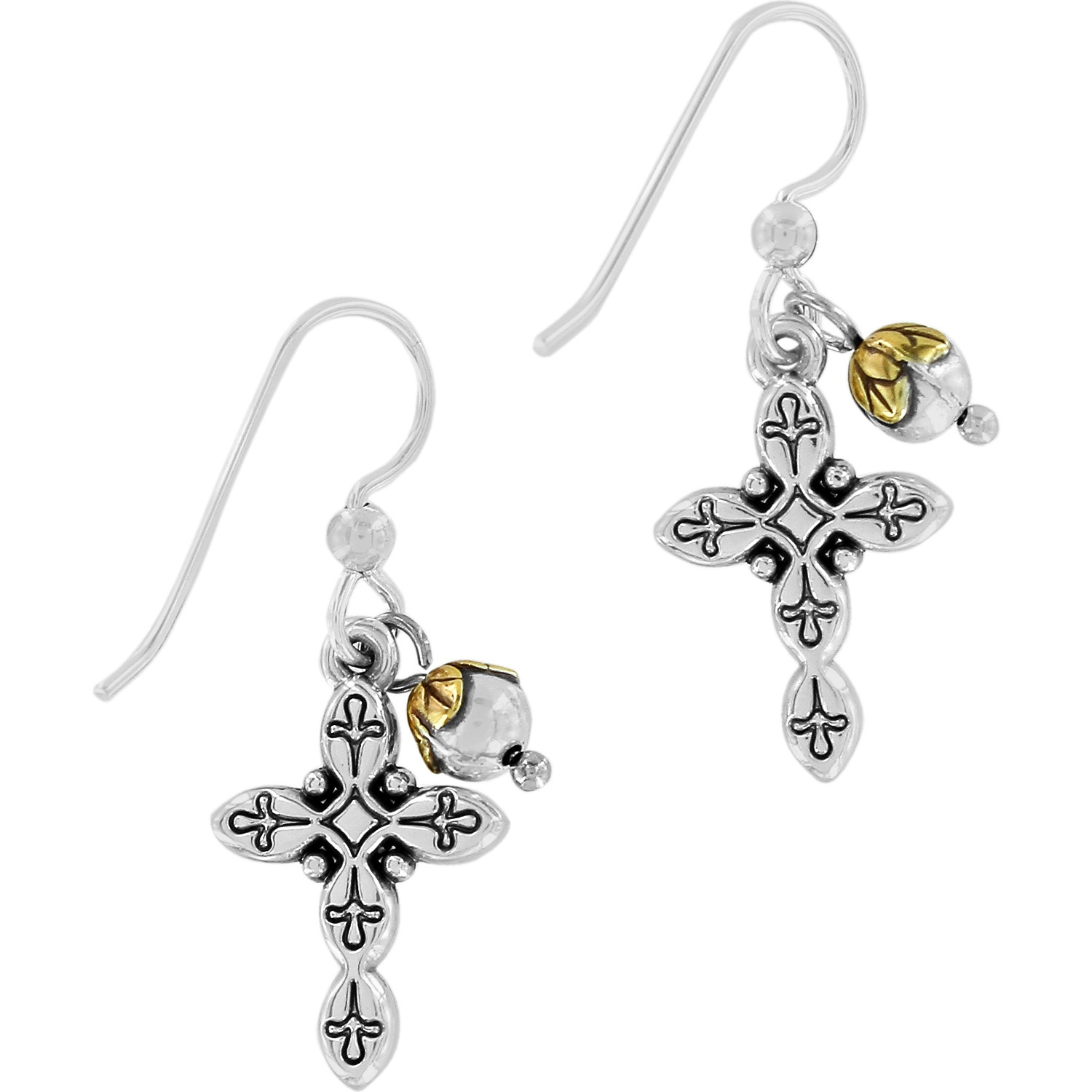 Sacramento Sacramento Cross French Wire Earrings Earrings
