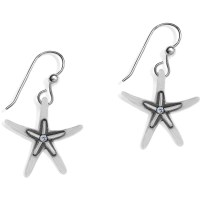 BLUE WATER Water Starfish French Wire Earrings Earrings