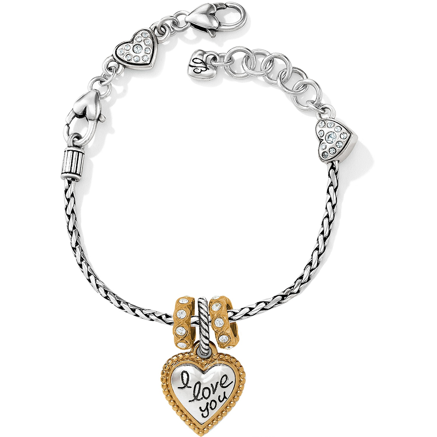I Love You Charm Bracelet Charm Idea Lab