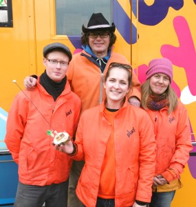 The council's Playbus team