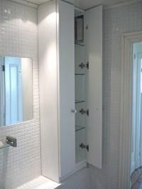 bathroom cabinet shelves 2017 - Grasscloth Wallpaper