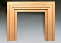 The Art Deco Traditional Wood Fireplace Surround ...