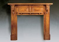 The Perth Traditional Wood Fireplace Surround - Brighton ...